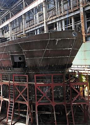 Судовая сталь в Астрахани
